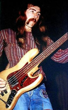 Berry Oakley of the Allman Brothers Band