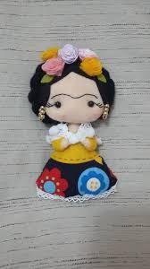 Resultado de imagen para molde da boneca frida kahlo