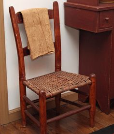 Antiques....I have a chair from my Grandma's house that is almost identical!  <3