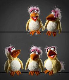 Figurenschneider Vogelschwärmchen