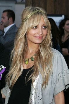 nicole richie headband hairstyles 2012 | Best Hairstyles Ideas
