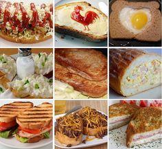 Množstvo skvelých receptov v ktorých hrá hlavnú rolu chlieb, zo stránky NAJLEPŠIE pozbierané recepty...