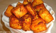 Ramyas Recipe...: Paneer 65