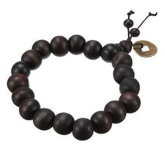 Hot! Buddhist Tibetan Buddha Strand Bracelet Vintage Wood Beads Bracelet Men Natural Handmade Male Bracelet Bangle H5071 P