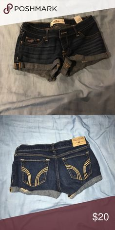 Hollister shorts I'll be selling size 1 shorts from Hollister, wore a couple of times but looks good as new. Hollister Shorts Jean Shorts