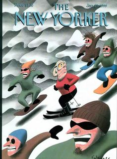 """Jan. 25, 1999, """"Down the Hill,"""" by Ian Falconer"""