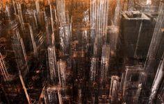 New York Paintings by Dario Moschetta