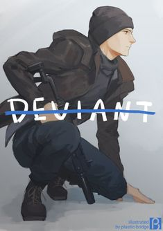 Detroit become human Connor By: plastic_bridge