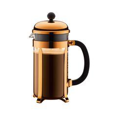Chambord Kaffeebereiter 1L, Kupfer, Bodum