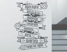 """Ideas originales para la decoración del hogar """"déjate inspirar, disfruta de los momentos inesperados..."""""""