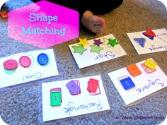 Easy Shape Matching Activity
