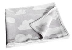 Farg Form Children's Blanket Moln Cloud Grey