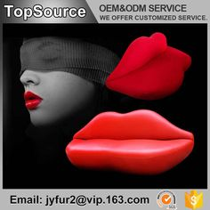 Source Leather Furniture Living Room Design Sexy Red Lip Shaped Sofa on m. Leather Living Room Furniture, Metal Furniture, Lips Sofa, Furniture Packages, Lip Shapes, Red Sofa, Fashion Room, Fabric Sofa, Red Lips
