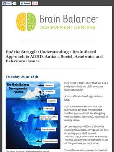 Check out this Mad Mimi newsletter....50 Brain Balance Centers across the U.S.
