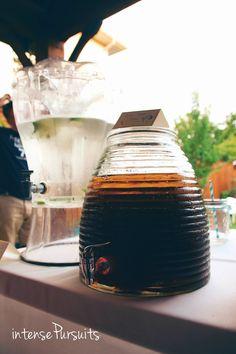 Iced Tea Drink Outdoor Party IntensePursuits : DIY: sailor-navy themed indoor/outdoor graduation party