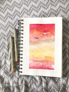 Art journal #acrylicpaint #landscape  #aesthetic My Drawings, Journal, Landscape, Art, Scenery, Journal Entries, Landscape Paintings, Kunst, Journals