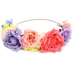 H&M Hair decoration with flowers ($9.87) ❤ liked on Polyvore featuring accessories, hair accessories, floral, h&m hair accessories, flower hair accessories and floral hair accessories