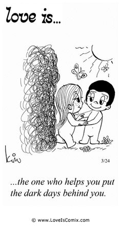 Love is. Number one website for Love Is. Funny Love is. pictures and love quotes. Love is. comic strips created by Kim Casali, conceived by and drawn by Bill Asprey. Everyday with a new Love Is. Love Is Comic, Love Is Cartoon, Love My Husband, Love Him, Little Buddha, Love Of My Life, My Love, Lovey Dovey, Love Sayings