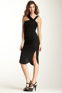 Asymmetric Strap Dress