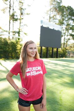 Excited to share this item from my shop: Red Saturday in Athens Shirt Solid Black, Black And Grey, Georgia Shirt, Sorority Shirts, Heather Black, American Apparel, Vintage Black, T Shirts For Women, Crop Tops