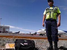 G2 Vest StatPacks y Mochila Botiquín Trauma II EMS apoyando al Servicio Médico en el Aeropuerto Internacional de Zacatecas.  EMS Mexico | Equipando a los Profesionales   Foto cortesía I. Carranza