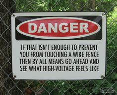 Love this sign....I would add a video camera to catch the action