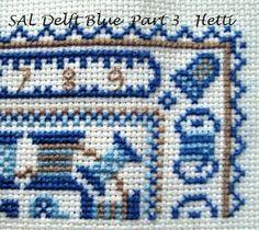 Sal Delft Blue love to stitch.....