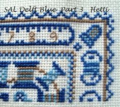 Sal Delft Blue love to stitch.....