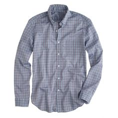 Lightweight Chambray Shirt in Sunset Check from J. Crew