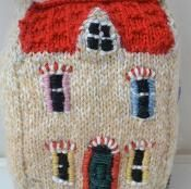 Little Woollie House - via @Craftsy