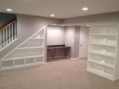 Club Basement Ideas Painting finished basement?! yep. | finished basement in row home