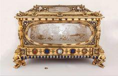 Joyero de la infanta Isabel Clara Eugenia, hija del rey Felipe II de España