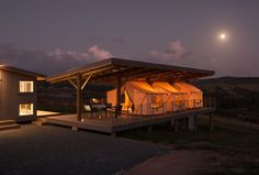 Tent Pavilion, Kaipara, New Zealand by Peggy Deamer