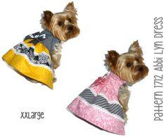 Hey, I found this really awesome Etsy listing at https://www.etsy.com/listing/220730047/abbi-lyn-dog-dress-pattern-1712-xxlarge