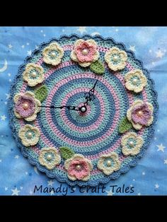 Mandy's craft tales on Facebook has created this stunning clock