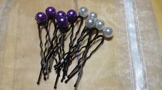 10 jolies pinces à chignon avec leur perles : Autres bijoux par creatifnadia