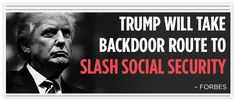 Trump Will Take Backdoor Route To Slash Social Security -Forbes