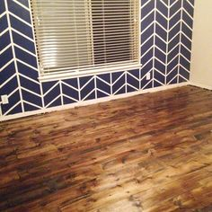 DIY planked plywood flooring tips and FAQs about installation, durability, and cleaning, plus pros and cons about laying your own plywood plank floors. Plywood Plank Flooring, Diy Wood Floors, Pine Floors, Diy Flooring, Parquet Flooring, Wood Planks, Kitchen Flooring, Flooring Ideas, Wood Floor Stain Colors