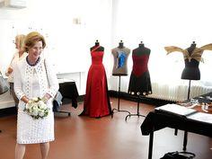 Queen Sonja opened Edvard Munch school in Oslo | NEWMYROYALS & HOLLYWOOD FASHION