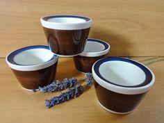 4 Vintage Rorstrand Amanda Egg Cups by Hersnhiswarehouse on Etsy