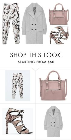 """""""Marc by Marc Jacobs Max wool-blend coat"""" by thestyleartisan ❤ liked on Polyvore featuring Zara, Marc by Marc Jacobs, women's clothing, women's fashion, women, female, woman, misses, juniors and print"""