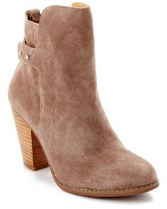 """Spotted this Madison Harding """"Charlotte"""" Suede Bootie on Rue La La. Shop (quickly!)."""