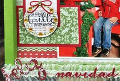 I ♥ SCRAP: Blog Hop Christmas in July con Latina Crafter