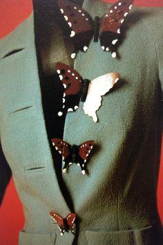 Schiaparelli butterfly buttons