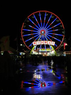 Wanted to repin this from our friends at The Big E in Massachusetts. Can't wait to see that midway in person someday. Amazing.    Fan picutre of the midway @ the Big E.