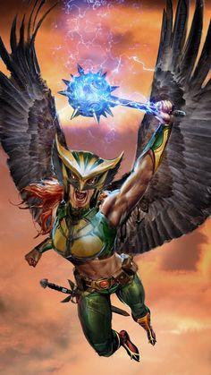 Hawkgirl by John Gallagher
