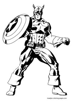 82686fa8ac258d3c4d91b57db23865c5--captain-america-coloring-pages