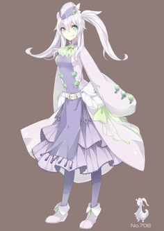 human version gijinka pokemon, goodra