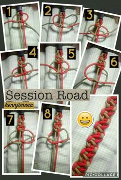 Session Road Paracord Bracelet Tutorial