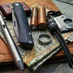From @instafr4nk - Hump day dump - #customknives #garystewart #slipjoint…